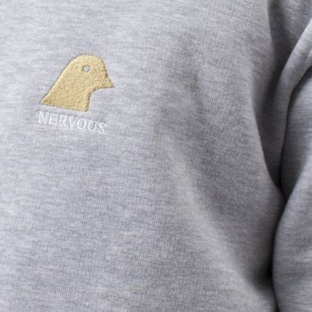 Bluza Nervous Crew Goldhead Grey