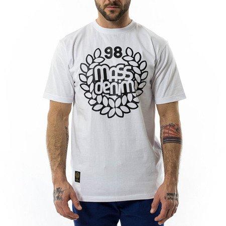 KOSZULKA T-SHIRT MASS DENIM BASE WHITE