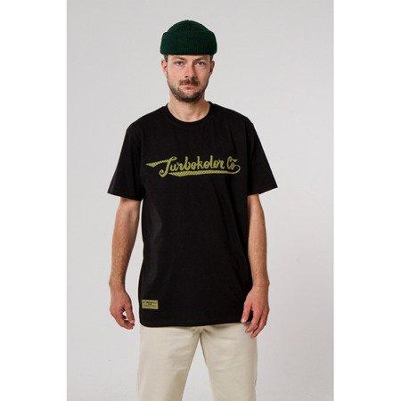 KOSZULKA TURBOKOLOR T-SHIRT FAT SIGNATURE BLACK