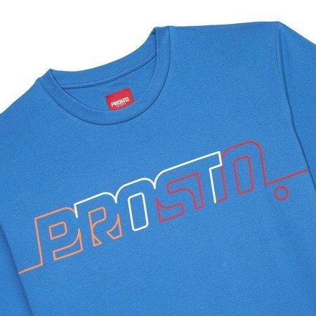 POSTCARD T-SHIRT LINE OUT NAVY