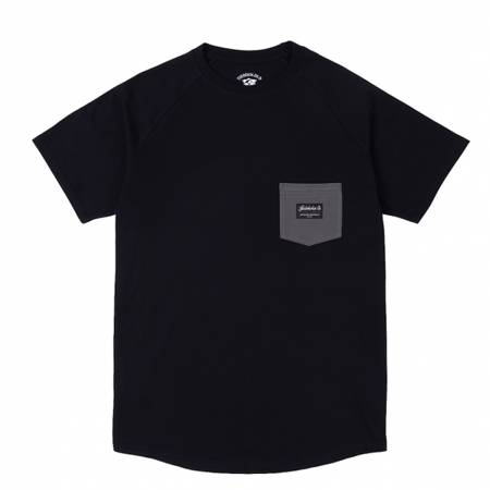 TURBOKOLOR T-SHIRT ARTISANS POCKET BLACK